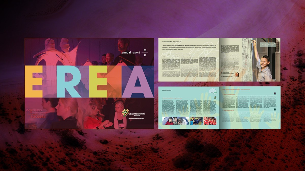 EREA Annual Report 2012 Designed by Ian James 0488 069 194