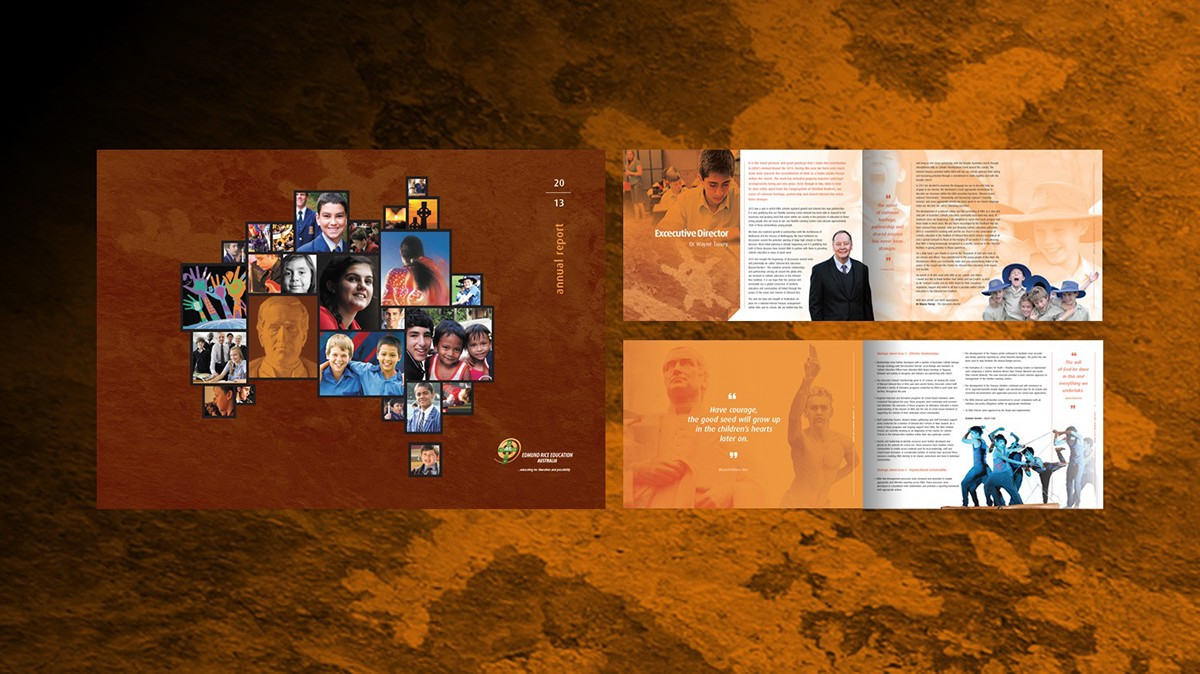 EREA Annual Report 2013 Designed by Ian James 0488 069 194